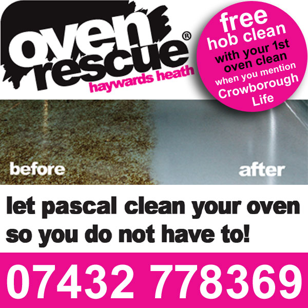 Oven Rescue: Let Pascal clean your oven... so you don't need to.