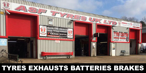 ASF Tyres in Crowborough