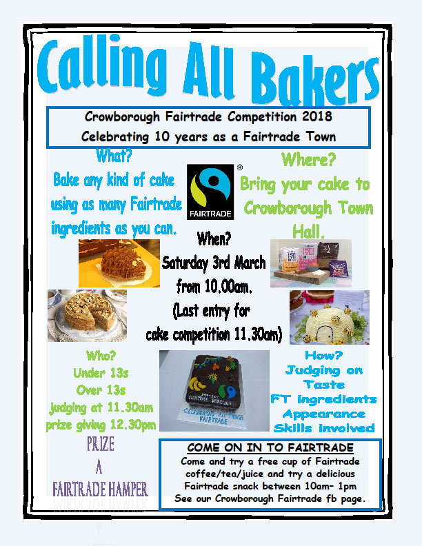 Fairtrade Baking Competition - Crowborough Life