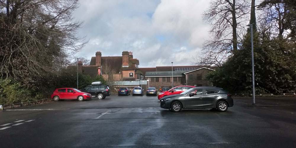 Mead House car park