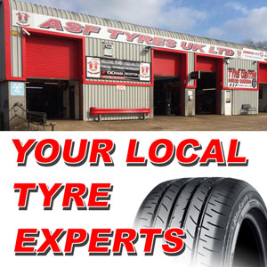 ASF Tyres Crowborough: Tyres, Batteries, Brakes and Exhausts. Millbrook Business Park, Sybron Way, Jarvis Brook Crowborough TN6 3JZ.