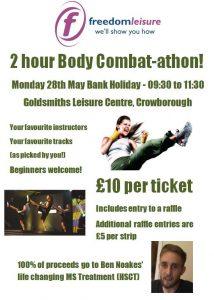 Body Combat-athon @ Crowborough Leisure Centre | Crowborough | England | United Kingdom