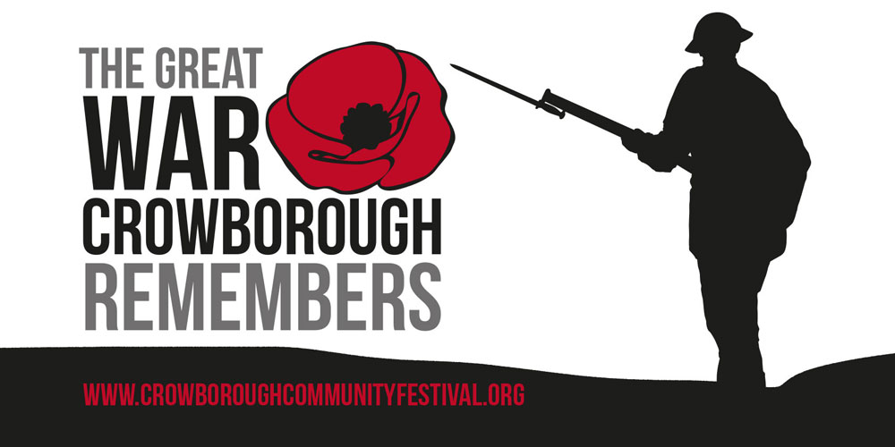 Crowborough remembers the end of the First World War.