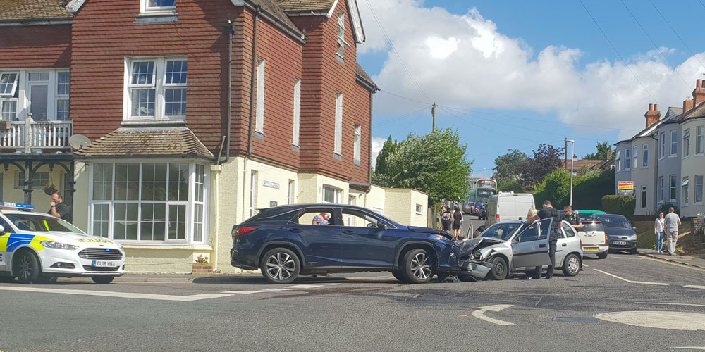 Drunk driver Whitehill Road smashed into parked cars