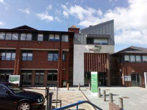 Wealden District Council offices in Hailsham