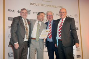 Institute of Groundsmanship - Volunteer Sports Grounds Team/Individual award 2018 Crowborough Rugby Football Club