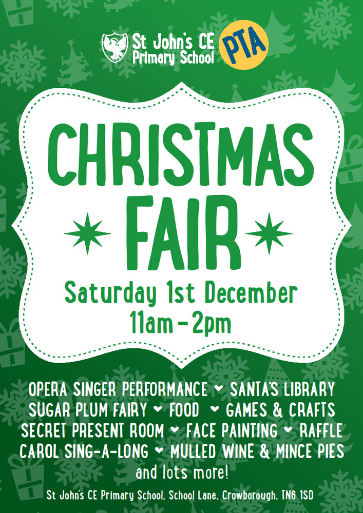 Christmas Fair @ St John's CE Primary School | England | United Kingdom