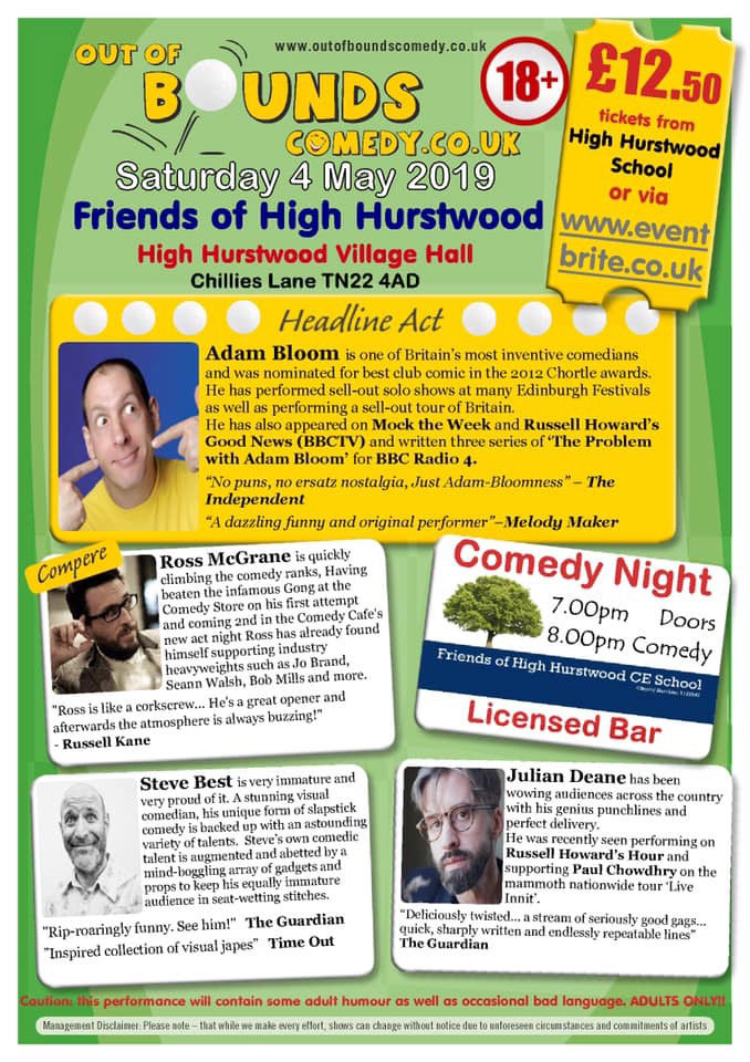 Comedy Night - Crowborough Life