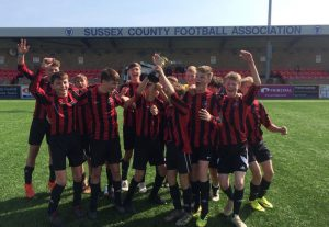 Beacon School Year 9 Boys Football County Shield Cup