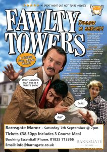 Fawlty Towers Night @ Barnsgate Manor | Heron's Ghyll | England | United Kingdom