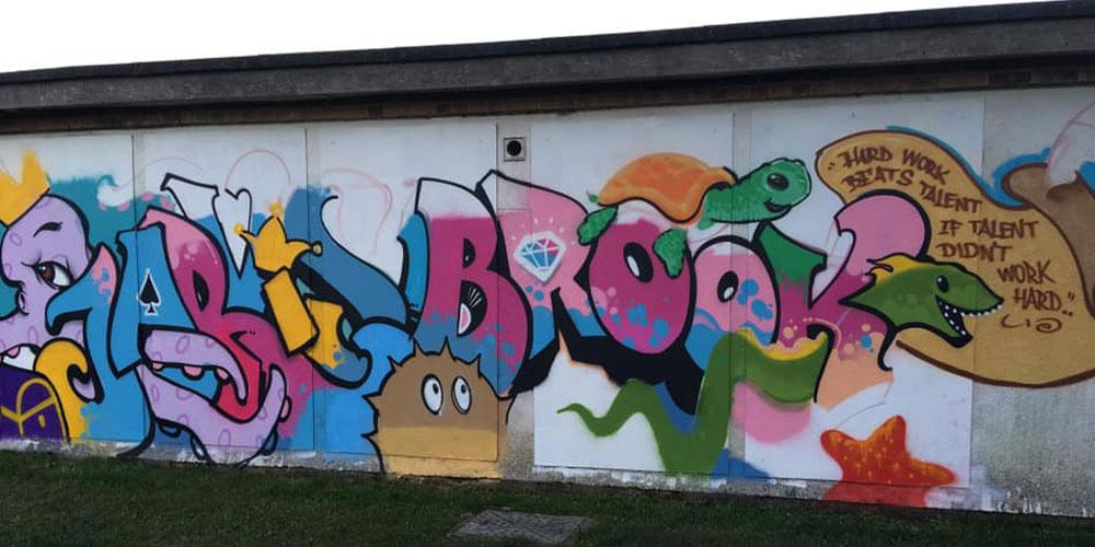 New Scrapstore Mural