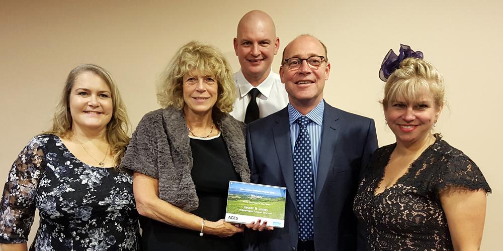 Tester & Jones wins East Sussex Business Award
