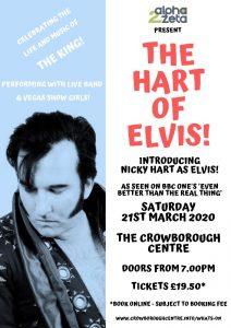 The Hart of Elvis @ Crowborough Community Centre | England | United Kingdom