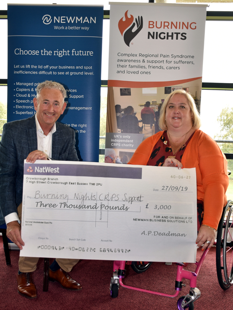 Soggy Golf Day Makes a Splash of Cash for Charity