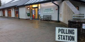 Polling Station at Crowborough Community Centre
