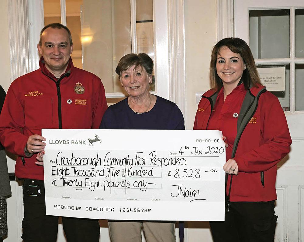 Crowborough Golf Club raises over £17,000 for charity