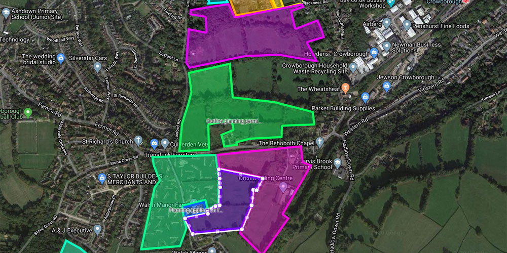 288 more homes could be built in Crowborough