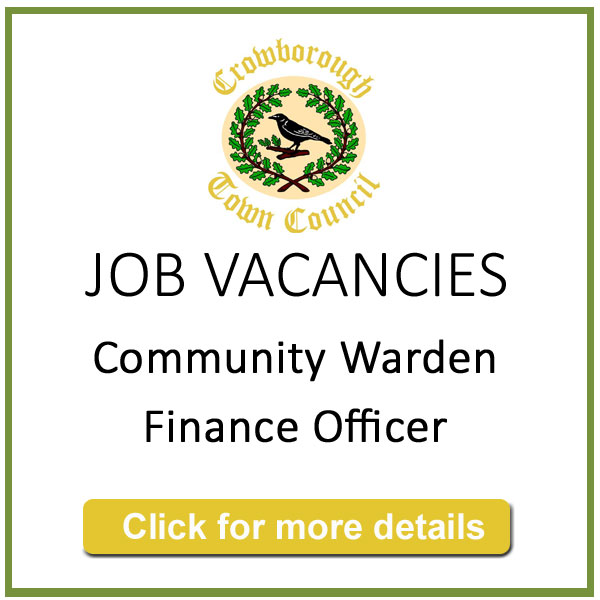 Crowborough Town Council - Job Vacancies: Community Warden and Finance Officer