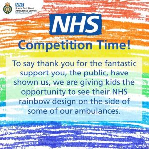 Ambulance Service Ambulance Rainbow Competition Kent, Surrey and Sussex