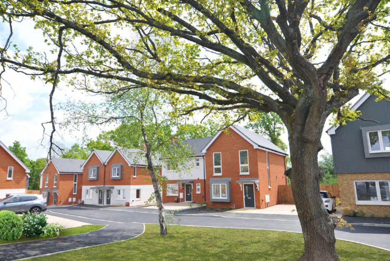 Shared ownership scheme in Crowborough