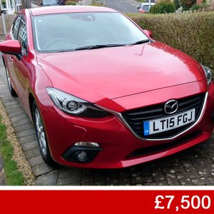 For sale: Mazda 3 2.0 Litre £7,500 Crowborough