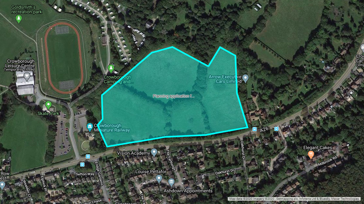 Decision on major Crowborough development reversed