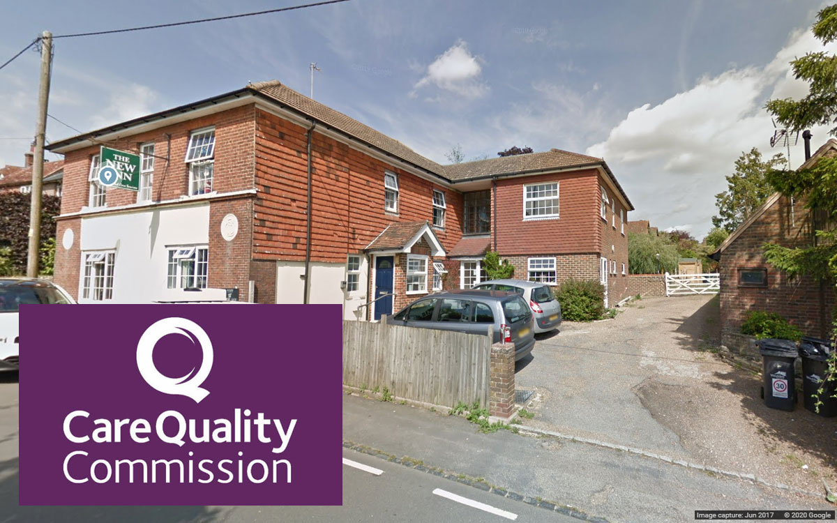 New Inn Uckfield (Google Streetview) CQC logo