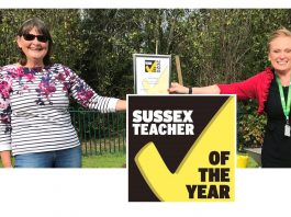 Janet Hogg Sussex Headteacher of the Year 2020