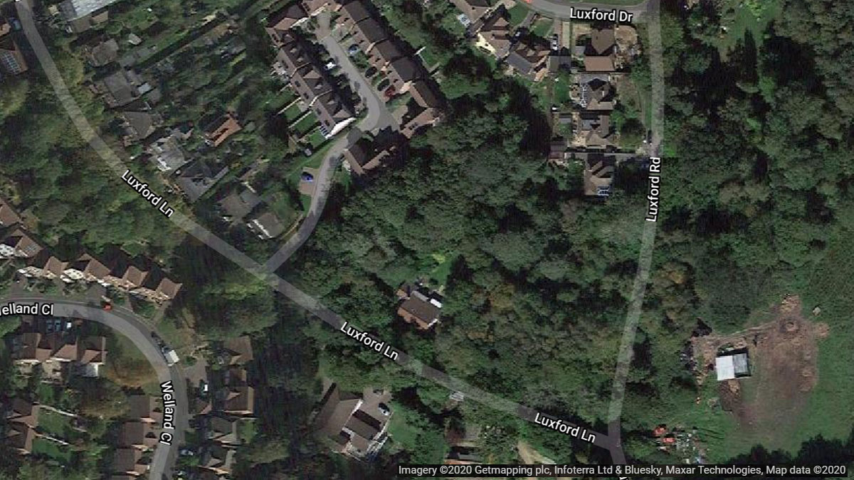 Application to build 5 more homes on Luxford Lane