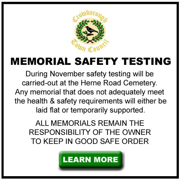 Memorial Safety Testing