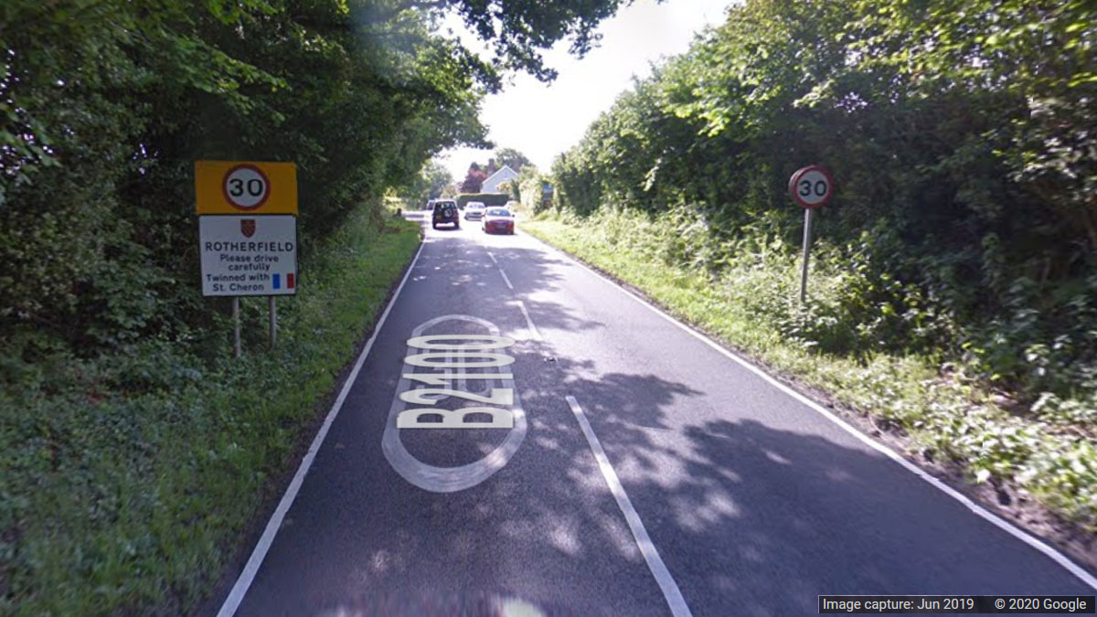 Campaign to reduce the speed limit on Rotherfield hill