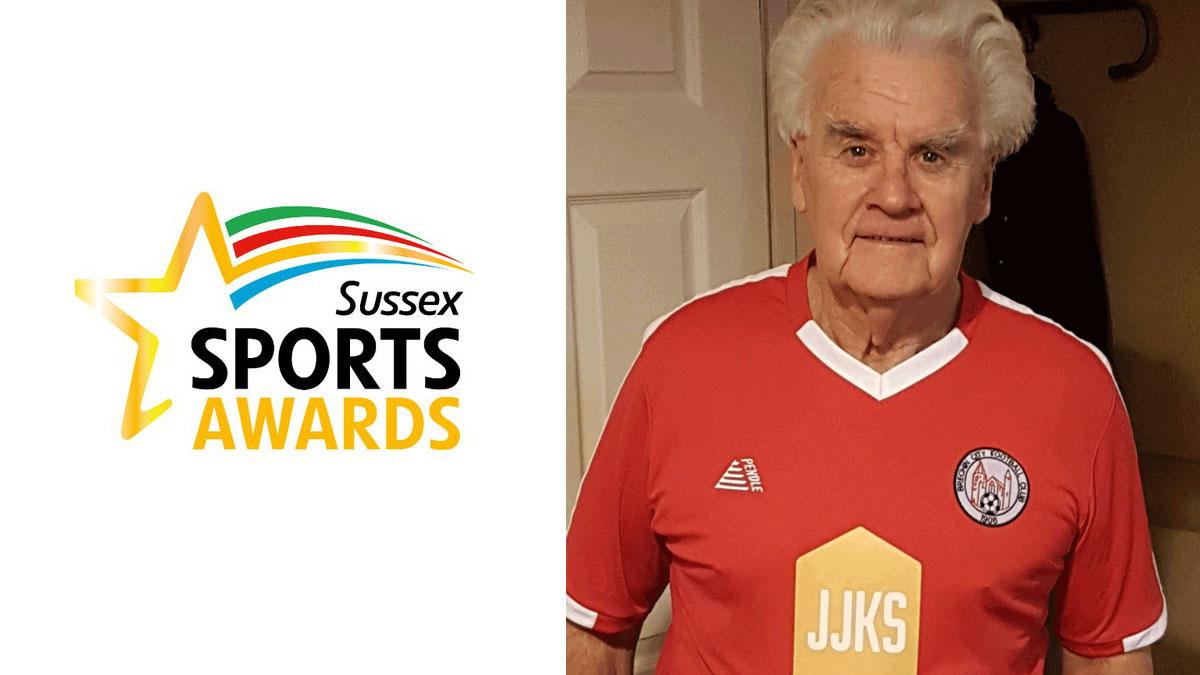 Crowborough finalist in the Sussex Sport Awards