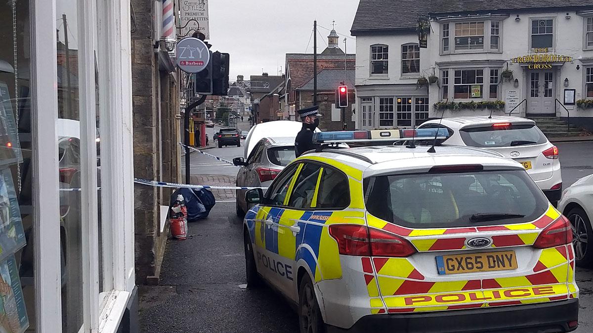 'Deliberate' fire at Crowborough barbers