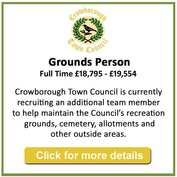 Job vacancy - Gorunds Person - Crowborough Town Council