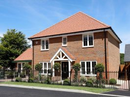 Photo of show home The Noble Fir at The Nightingales development in Crowborough