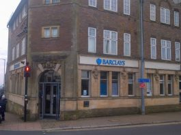 Barclays Bank at 1 High Street Crowborough TN6 2QA