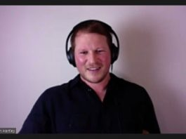 Former England Rugby Captain Dylan Hartley during virtual Q&A with Crowborough RFC