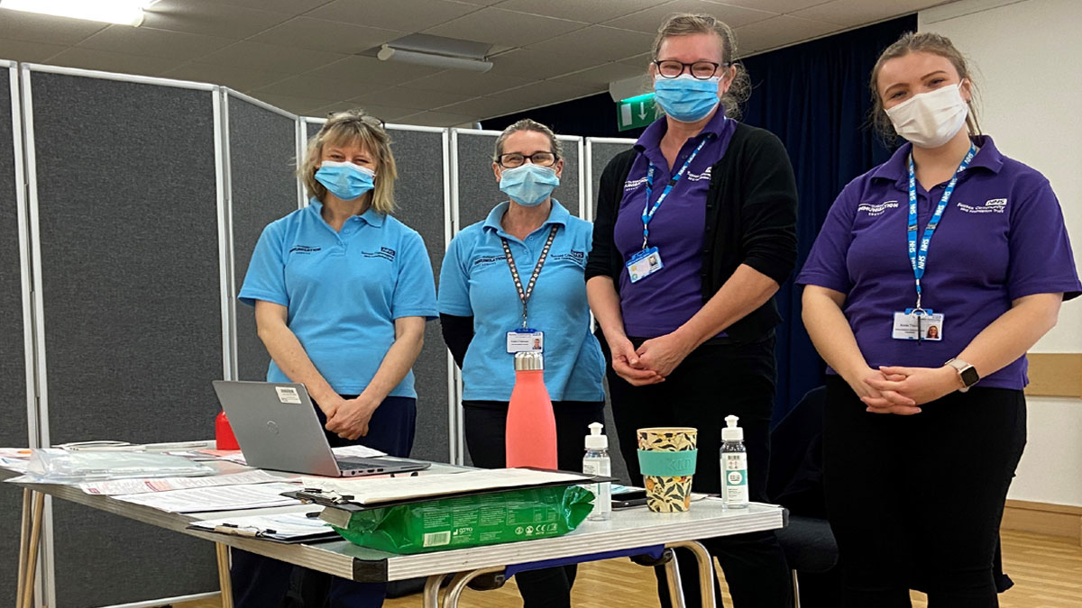 Crowborough Community Centre eases vaccination pressures