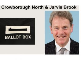 "James Partridge is standing in the election for ""Crowborough North & Jarvis Brook"" in the East Sussex County Council elections on 6th May 2021."