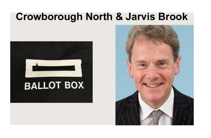 """James Partridge is standing in the election for """"Crowborough North & Jarvis Brook"""" in the East Sussex County Council elections on 6th May 2021."""