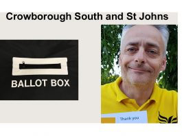 "Gareth Owen-Williams is standing in the election for ""Crowborough South & St Johns"" in the East Sussex County Council elections on 6th May 2021."