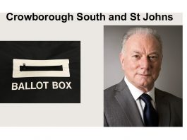 "Philip Lunn is standing in the election for ""Crowborough South & St Johns"" in the East Sussex County Council elections on 6th May 2021."