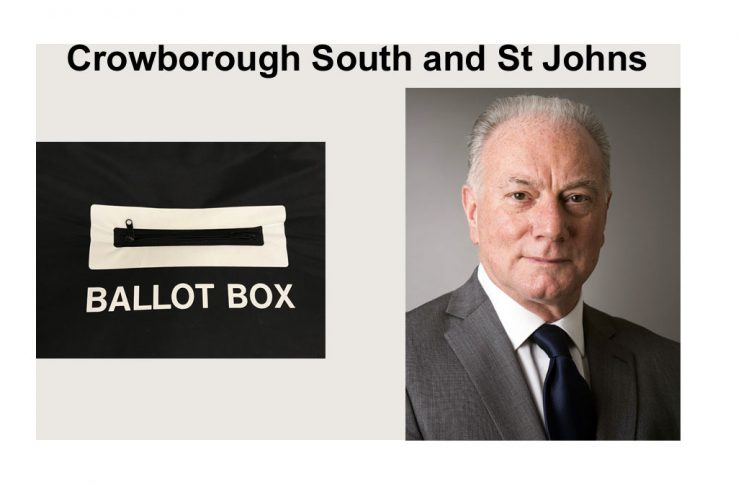 """Philip Lunn is standing in the election for """"Crowborough South & St Johns"""" in the East Sussex County Council elections on 6th May 2021."""