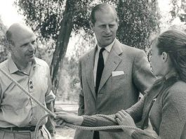 HRH Duke of Edinburgh, Patron of Bowles outdoor centre at Eridge