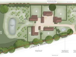 WD/2020/1300/F Royal Mires Garden Centre Lye Green Proposed Site Layout