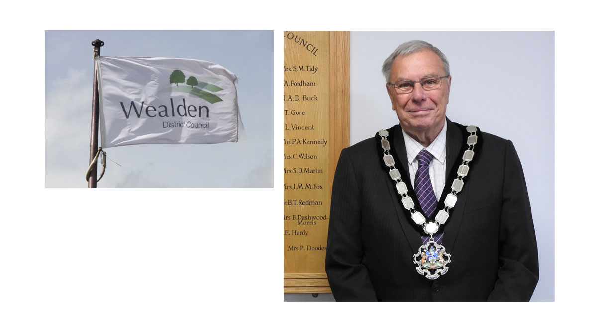 Cllr Reed from Crowborough elected Chairman of Wealden District Council