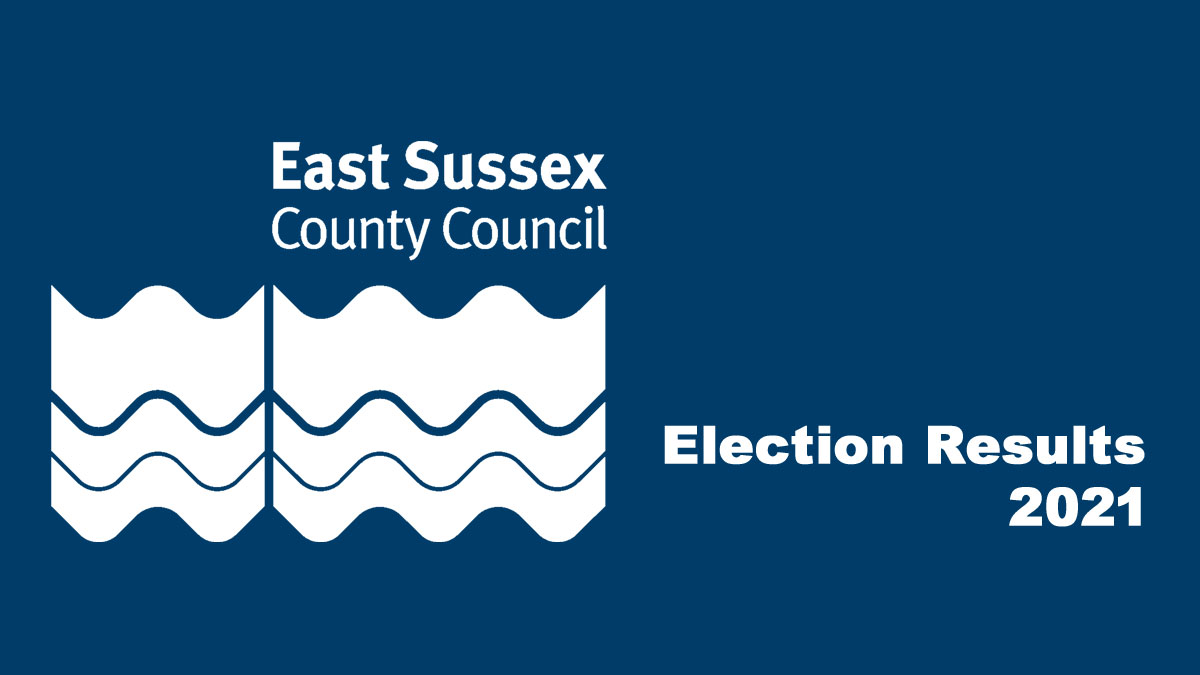 east Sussex County Council election results May 2021.