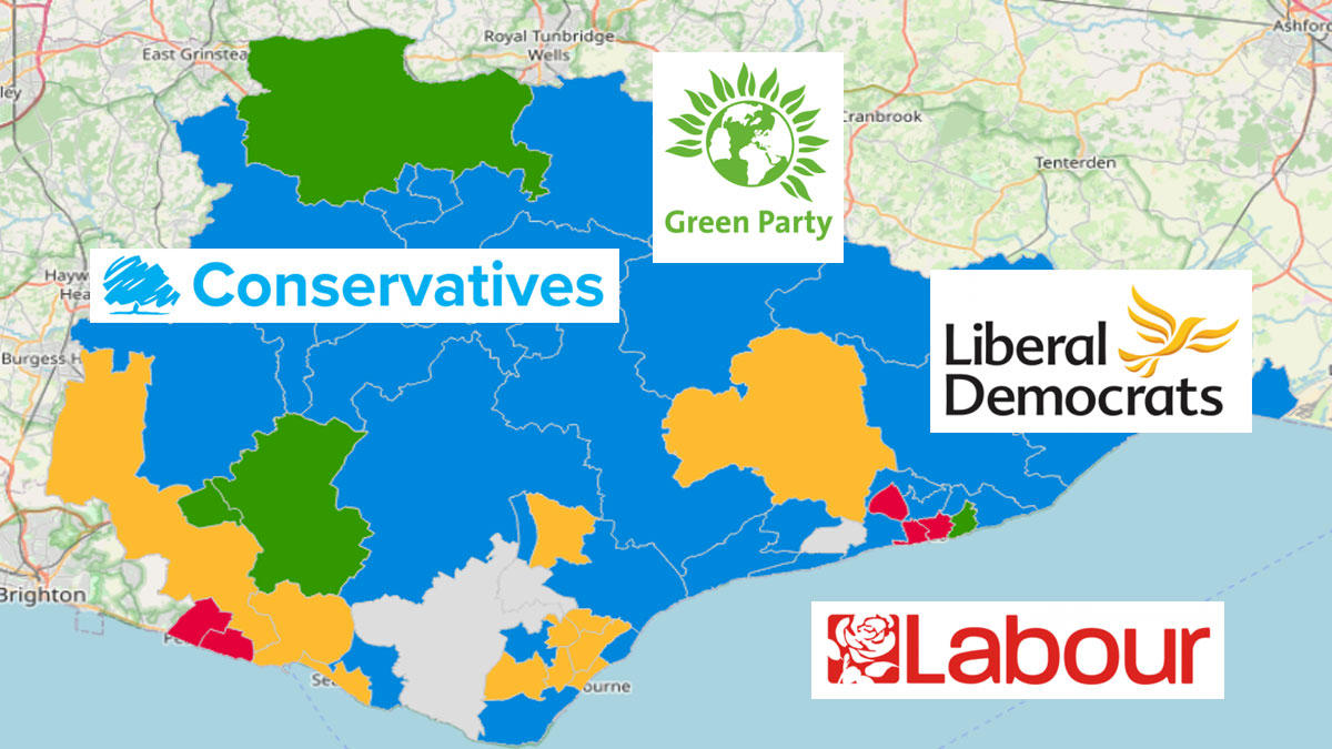 East Sussex election results: Reaction from party leaders