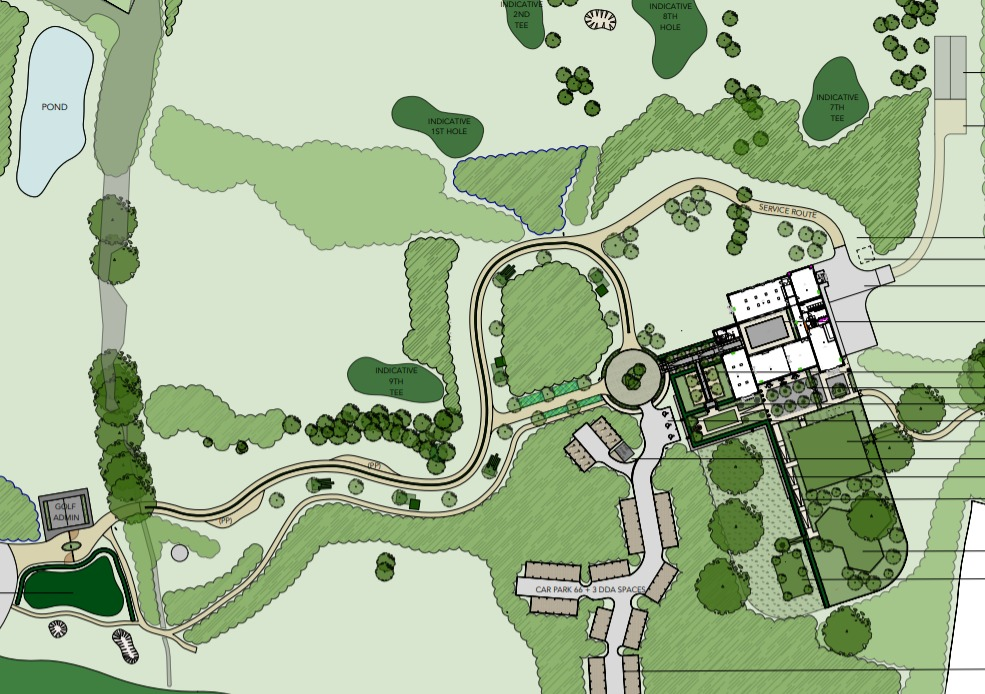 Storage building at golf club deferred for second time